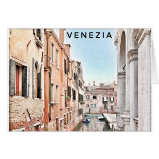 Het Lege Wenskaart van Venetië