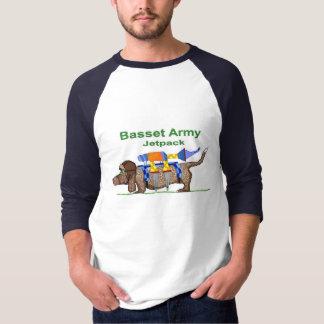 Het Leger van Basset Hound - Jetpack, Pop-art door T Shirt