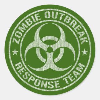 Het Leger van het Team van de Reactie van de Ronde Sticker
