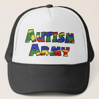 Het legerpet van het autisme trucker pet