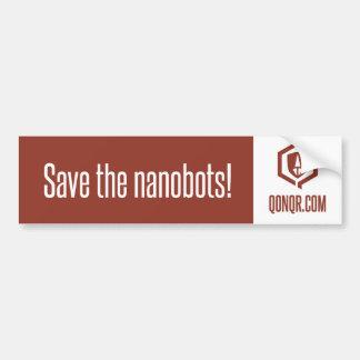 Het legioen redt Nanobots Bumpersticker