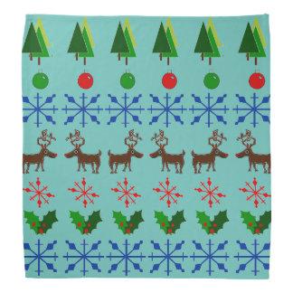 Het lelijke Ontwerp van de Sweater van Kerstmis op Bandana