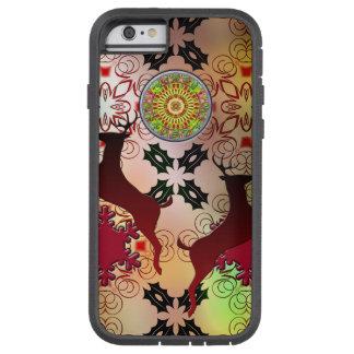 Het lelijke Ontwerp van het Rendier van Kerstmis Tough Xtreme iPhone 6 Hoesje