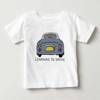 Het leren om T-shirt van Jersey van het Baby van