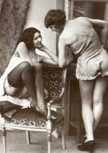 Vintage lesbische pics