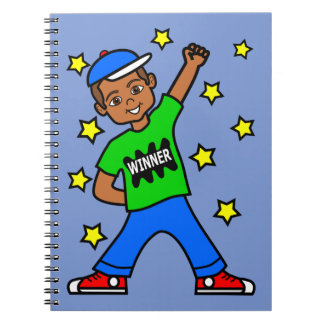 Het leuke Afrikaanse Amerikaanse Dagboek van de Notitieboek