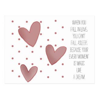 Het leuke Briefkaart van Valentijn van het Patroon