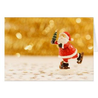 Het leuke cijfer van de Kerstman aangaande Kaart