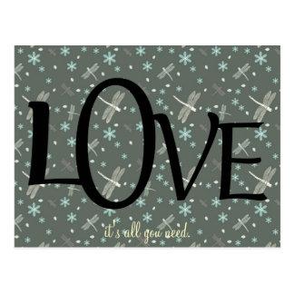 Het leuke Citaat van de Liefde Briefkaart