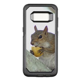 Het leuke eten van de Eekhoorn OtterBox Commuter Samsung Galaxy S8 Hoesje