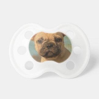 Het leuke Franse Puppy van de Buldog - de Grappige Baby Speentjes