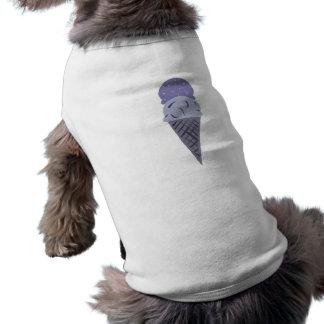Het leuke Geschilderde Paarse Overhemd van het Shirt
