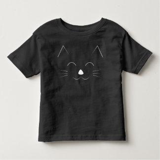 Het leuke Gezicht van de Kat - wit Kinder Shirts