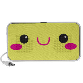 Het leuke gezicht van Sprekers Kawaii Mini Speaker