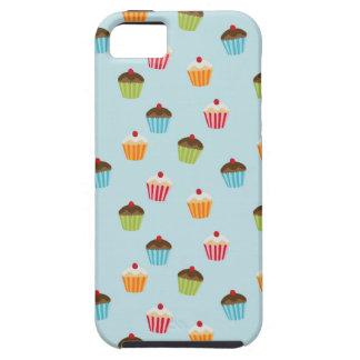 Het leuke girly cupcake cupcakes foodie patroon va tough iPhone 5 hoesje