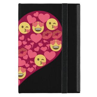 Het leuke Hart van Emoji van de Lippen van de Kus iPad Mini Hoesje