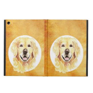 Het leuke Huisdier van de Hond van het Golden retr iPad Air Hoesje