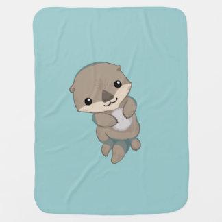 Het leuke Jong van de Otter van het Baby Inbakerdoek