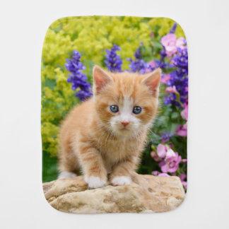Het leuke Katje van de Kat van de Gember in het Monddoekje