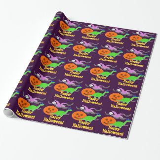 Het leuke Kind van de Partij van Halloween van de Cadeaupapier