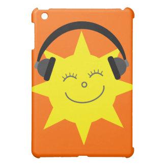 Het leuke Klantgerichte Sinaasappel van DJ van de Hoesjes Voor iPad Mini