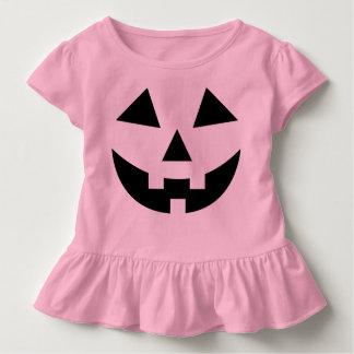Het leuke Kostuum van Halloween van de Pompoen van Kinder Shirts