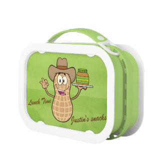 Het leuke Man van de Pinda & Pindakaas Lunchbox