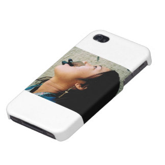 Het leuke Meisje van de Actie iPhone 4 Cases
