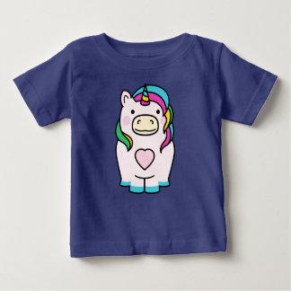 Het leuke Ontwerp van de Eenhoorn Baby T Shirts