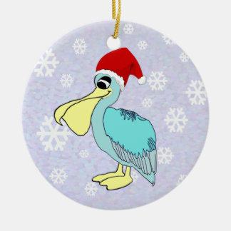 Het leuke Ornament van de Pelikaan van de Kerstman