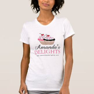Het leuke Overhemd van de Bakkerij Cupcake Shirts