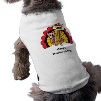 Het leuke Overhemd van de Hond van Turkije Klantge T-shirt