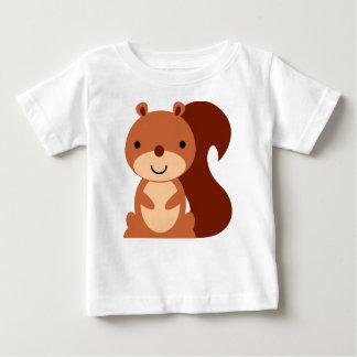 Het leuke Overhemd van het Baby van de Eekhoorn Baby T Shirts