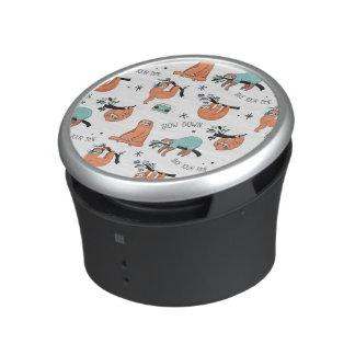 Het leuke Patroon van de Luiaard Bluetooth Speaker