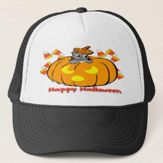Het leuke Pet van de Pompoen van Halloween van het