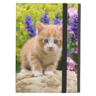 Het leuke Pluizige Katje van de Kat van de Gember iPad Air Hoesje