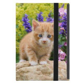 Het leuke Pluizige Katje van de Kat van de Gember iPad Mini Hoesje