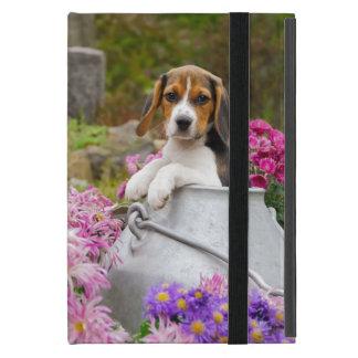 Het leuke Puppy van de Hond van de Brak in een iPad Mini Hoesje