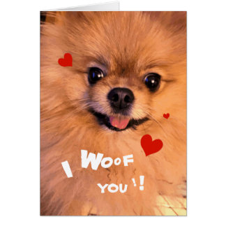 Het leuke Schattige Liefje Valentijn van Wenskaart