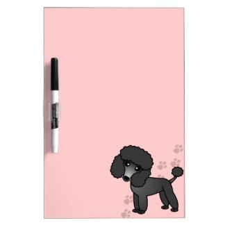 Het leuke Speelgoed van de Cartoon/Miniatuur Zwart Whiteboard