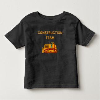 Het leuke Team van de Bouw, de T-shirt van de