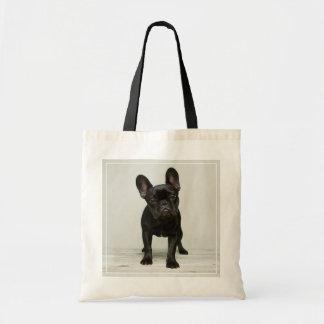 Het leukste Franse Puppy van de Buldog Draagtas