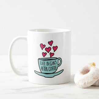 Het leven begint na Koffie Koffiemok