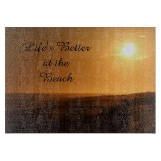 Het leven Beter bij het Strand Snijplank