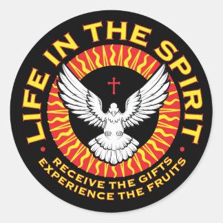 Het leven in de Stickers van de Geest