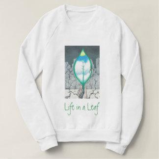 Het leven in een Blad (Groene Brieven) Dames Sweater