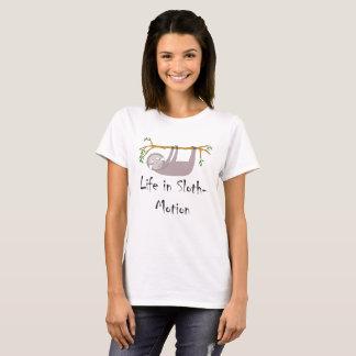 Het leven in luiaard-Motie Luiaard op een Tak T Shirt