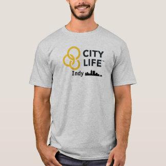 Het Leven Indy van de stad T Shirt