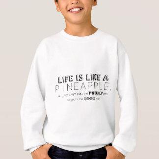 Het leven is als een ananas trui