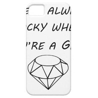het leven is altijd rotsachtig wanneer u een gem barely there iPhone 5 hoesje